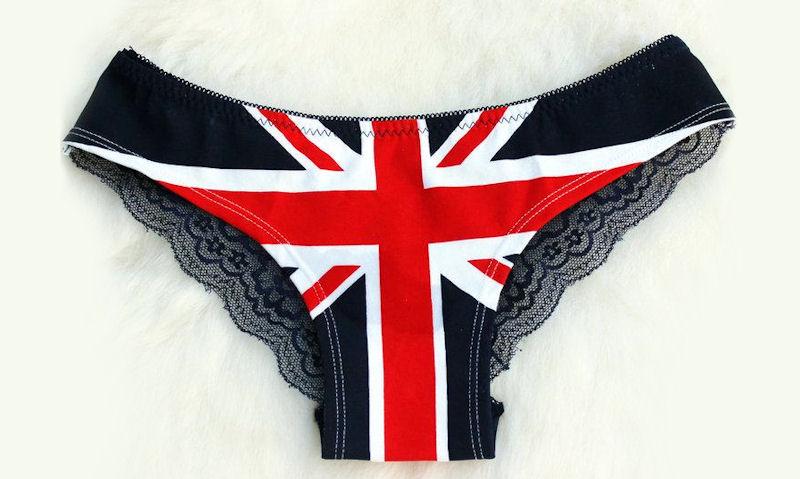British word for underwear