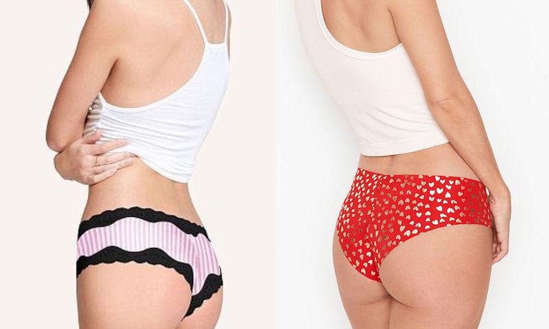 Cheekini vs Cheeky underwear