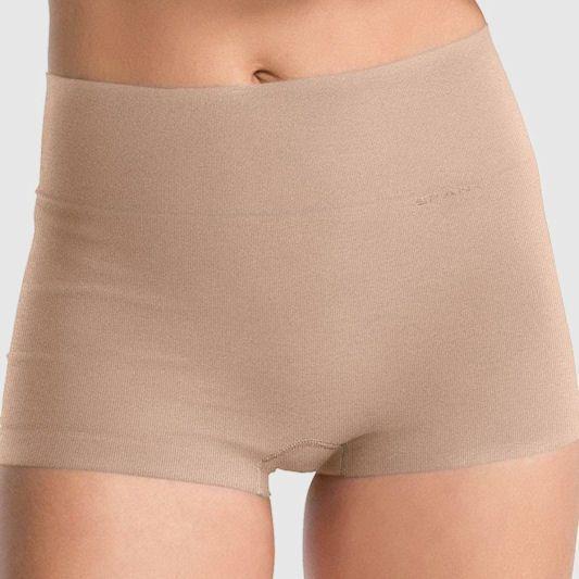 Hiding shorts under dresses