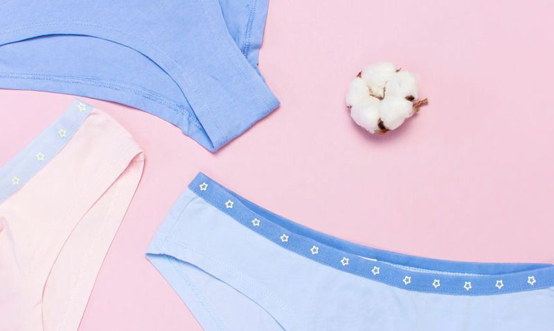 Assorted pastel knickers